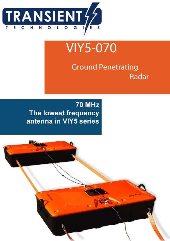 Broszura urządzenia georadarowego VIY5-70