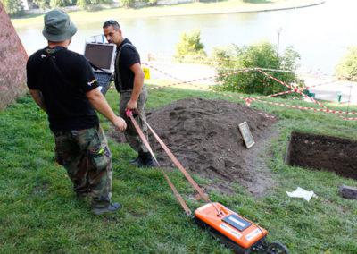 Wrzesień 2015 Wawel – Badania archeologiczne