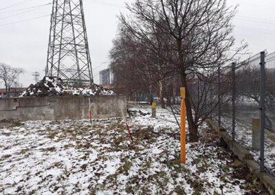 Usługi georadarowe – Marzec 2018 – Bydgoszcz, Gazownia inwentaryzacja zbiorników smołowych…