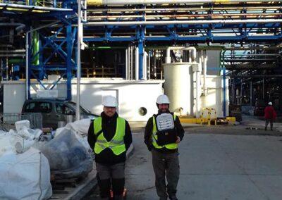 Usługi georadarowe – LISTOPAD 2017 – Zakłady Przetwórstwa Chemicznego inwentaryzacja infrastruktury.