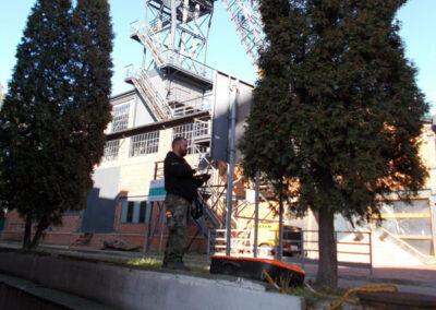 Październik 2015 – lokalizowanie piwnic z XIX w. Kopalnia Guido Zabrze Usługa georadarowa…