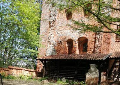 Usługi georadarowe – Przezmark – maj 2019, lokalizacja zabytków architektury.