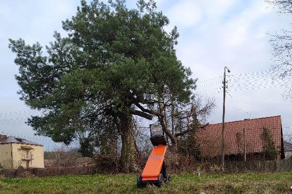 Usługi georadarowe – Siemiatycze – marzec 2020, próba lokalizacji pochówków.